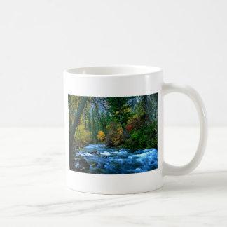 ローガン渓谷の川 コーヒーマグカップ