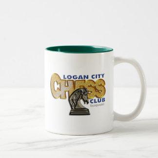 ローガン都市チェスクラブ ツートーンマグカップ
