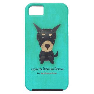 ローガン(犬)ドーベルマン・ピンシェル iPhone SE/5/5s ケース