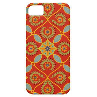 ローザのスペインのなタイルの電話箱 iPhone SE/5/5s ケース
