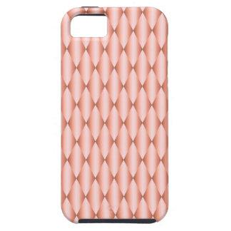 ローズクォーツのアーガイル柄のなピンクの道化師のかわいい iPhone SE/5/5s ケース