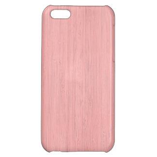 ローズクォーツのタケ木製の穀物の一見 iPhone5C
