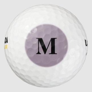 ローズクォーツの無地 ゴルフボール