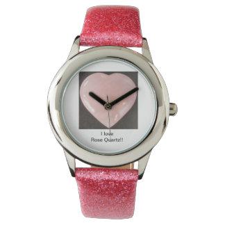 ローズクォーツ! 他に何か。 腕時計