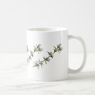 ローズマリーの小枝のマグ コーヒーマグカップ