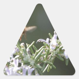 ローズマリーの蜂 三角形シール