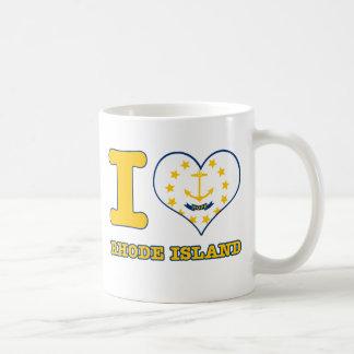 ロードアイランドのデザイン コーヒーマグカップ