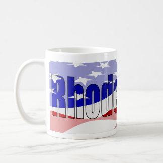 ロードアイランドのプライドのマグ コーヒーマグカップ