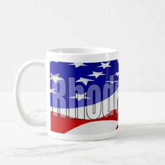 ロードアイランドのプライドのマグVer。 2 コーヒーマグカップ