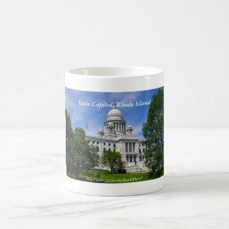 ロードアイランドの国会議事堂のマグ コーヒーマグカップ