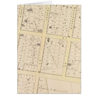 ロードアイランドの地図書の地図 カード