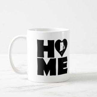 ロードアイランドの家のハートの州のマグかタンブラー コーヒーマグカップ