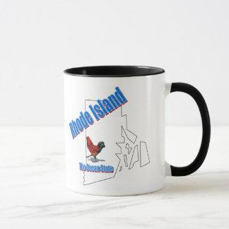 ロードアイランドの州のマグ マグカップ