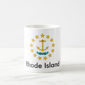 ロードアイランドの州の旗のマグ コーヒーマグカップ