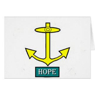ロードアイランドの希望のいかり カード