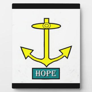 ロードアイランドの希望のいかり フォトプラーク