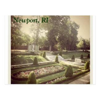 ロードアイランドの庭 ポストカード
