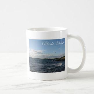 ロードアイランドの海景 コーヒーマグカップ