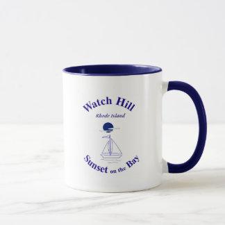 ロードアイランドの腕時計の丘- マグカップ