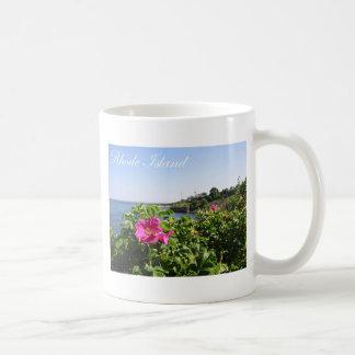 ロードアイランドの花 コーヒーマグカップ