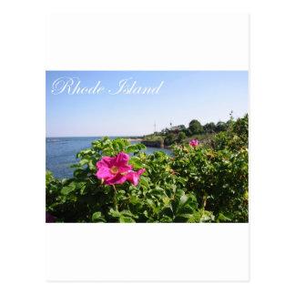 ロードアイランドの花 ポストカード