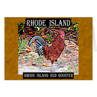 ロードアイランド赤のオンドリ カード