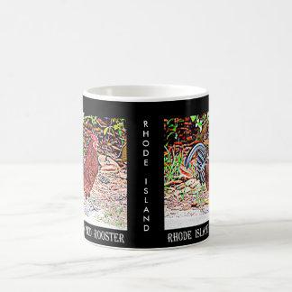 ロードアイランド赤のオンドリ コーヒーマグカップ