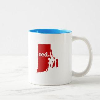 ロードアイランド赤の国家 ツートーンマグカップ