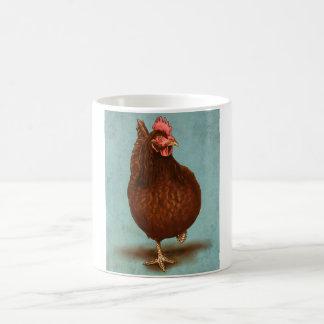 ロードアイランド赤の雌鶏のマグ コーヒーマグカップ