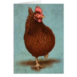 ロードアイランド赤の雌鶏 カード
