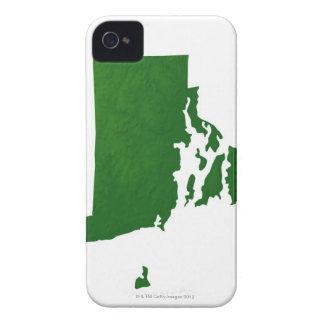 ロードアイランド2の地図 Case-Mate iPhone 4 ケース