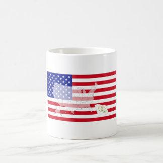 ロードアイランド、米国 コーヒーマグカップ