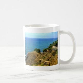 ロードアイランドMoheganの絶壁 コーヒーマグカップ