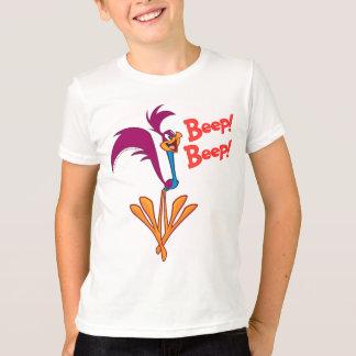 ロードランナーの側面のプロフィール Tシャツ