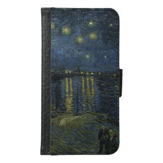 ローヌ上のゴッホの星明かりの夜 GALAXY S6 ウォレットケース