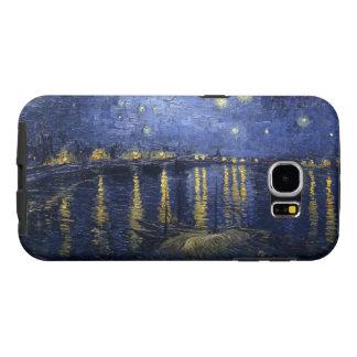 ローヌ上のゴッホの星明かりの夜 SAMSUNG GALAXY S6 ケース