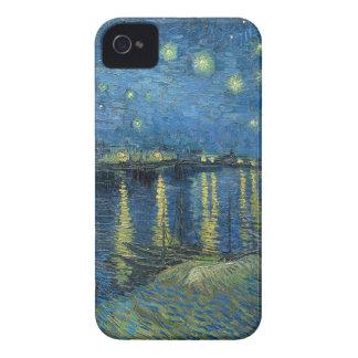 ローヌ上のフィンセント・ファン・ゴッホの星明かりの夜 Case-Mate iPhone 4 ケース