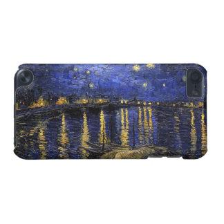 ローヌ上のフィンセント・ファン・ゴッホの星明かりの夜 iPod TOUCH 5G ケース