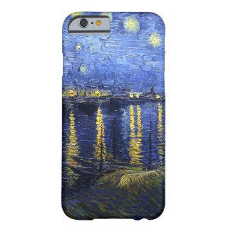 ローヌiPhone6ケース上のゴッホの星明かりの夜 Barely There iPhone 6 ケース
