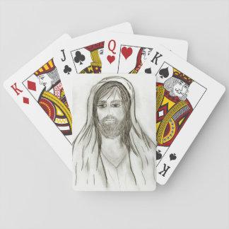 ローブをまとったイエス・キリスト トランプ