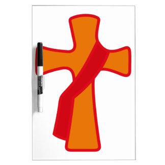 ローブをまとった十字 ホワイトボード