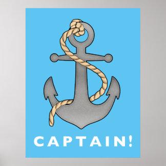 ロープを持つ第1叔父さん大尉 ポスター
