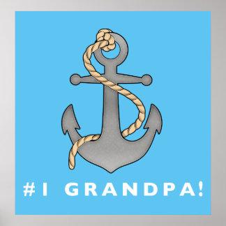 ロープを持つ第1祖父のいかり ポスター