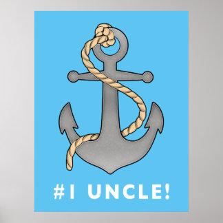 ロープを持つAnchor第1叔父さん ポスター