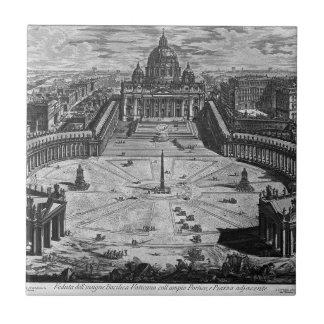 ローマおよびキャンパスMartiusの地図 タイル