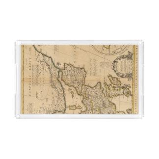ローマおよび東半球 アクリルトレー