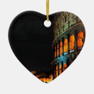 ローマでローマColosseum セラミックオーナメント