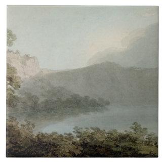 ローマとフィレンツェ1783年間のVicoの湖(grap タイル