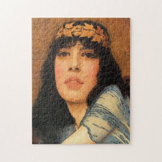 ローマのクラシカルな女性、ヴィンテージのスタイル ジグゾーパズル