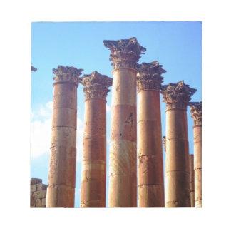 ローマのコラムの集り ノートパッド